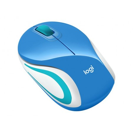 Logitech Wireless Mini Mouse M187 blue