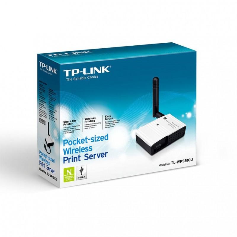 Printserver TP-Link TL-WPS510U 1xUSB (54MBit)