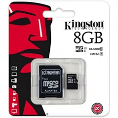 Kingston - Flash memory card - 8 GB - Cl