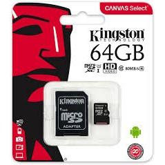 Kingston 64GB Canvas Select