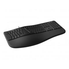 MS Ergonomic Keyboard for Business Win32 USB Port Azert