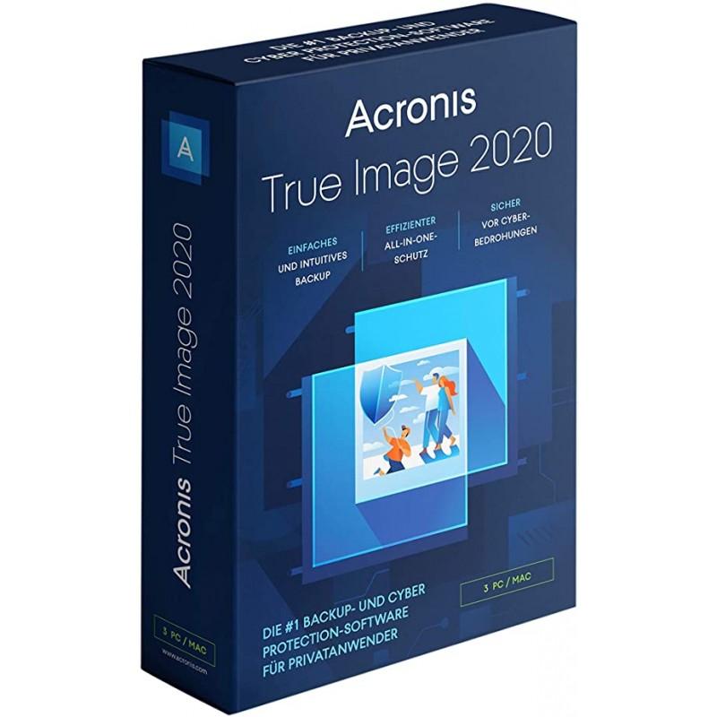 Acronis True Image 2020 BOX 3PC