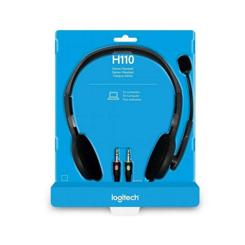 MMZ Logitech H110 Stereo Headset
