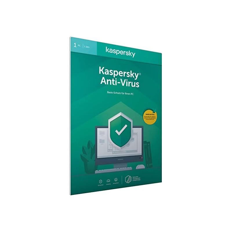 Kaspersky Anti-Virus 2020 (Code in a Box)